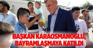 Başkan Karaosmanoğlu, Şalpazarlılar'ın Bayramlaşmasına Katıldı