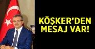 Başkan Köşker'den Bayram Mesajı