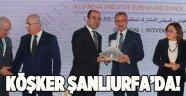 Başkan Köşker Şanlıurfa'da