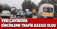 Çayırova'da 3 araç birbirine girdi!