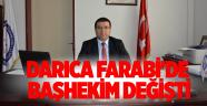 Darıca Farabi'de Baş Hekim Değişti