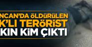 Erzincan'da öldürülen PKK''lı gri listedeki terörist çıktı