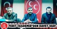 Ferit Taşdemir'den davet var!