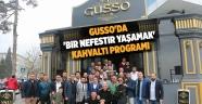 GUSSO'da 'Bir nefestir yaşamak' kahvaltı programı