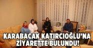 Karabacak'tan Katırcıoğlu'na Hac Ziyareti