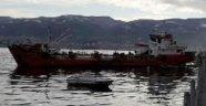 Kocaeli'de Batan Gemiler Denizden Çıkarıldı