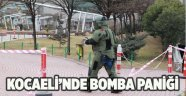 Kocaeli'nde bomba paniği!