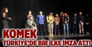 KOMEK Türkiye'de bir ilke imza attı