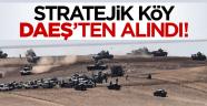 Stratejik köy DAEŞ'ten alındı