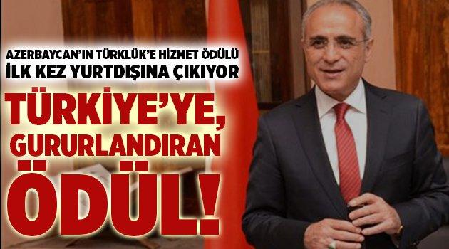 Türkiye'ye,  gururlandıran ödül!